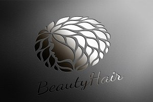 BeautyHair. Fashion Logo