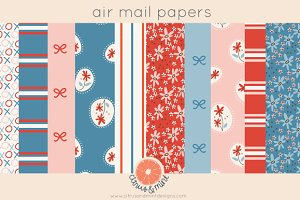 Valentine's Mail Digital Papers