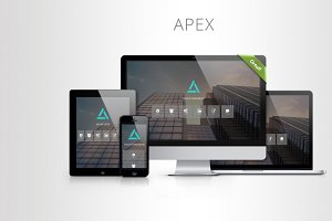 APEX – One Page Template