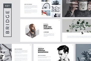 Bridge - Creative Keynote Template