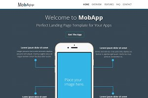 MobApp - Creative OnePage Template