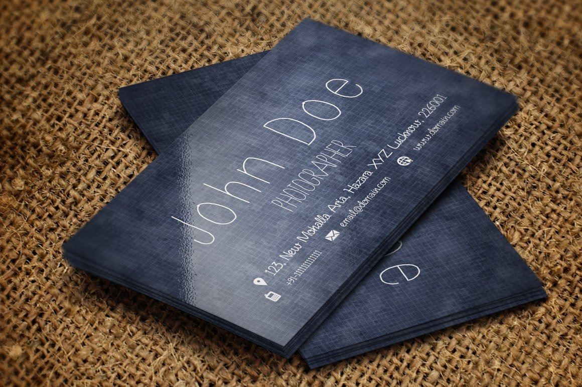 Handmade Business Card ~ Business Card Templates ~ Creative Market