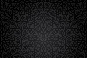 Set of vintage seamless patterns
