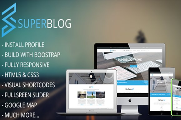 Super Blog-Responsive Drupal Theme