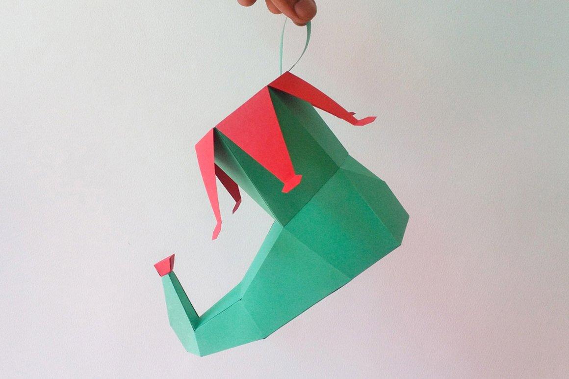 11+ Diy Santa Claus – 3D Papercraft PNG