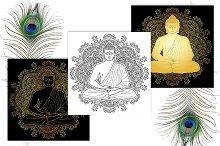Sitting Buddha Tattoo