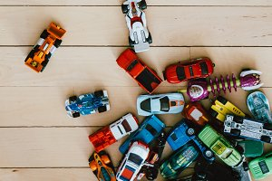 Small kids cars and toys