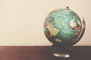 Grainy Globe