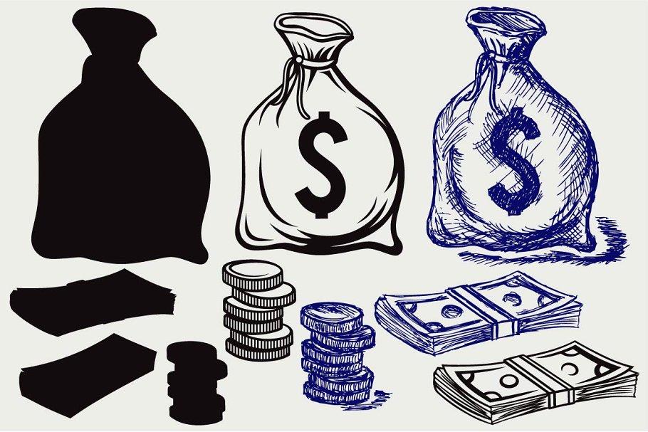 Moneybag SVG