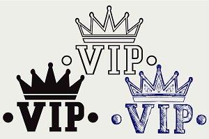 Crown VIP SVG
