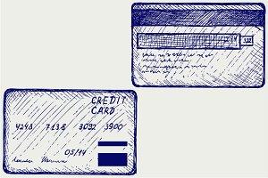 Credit card SVG
