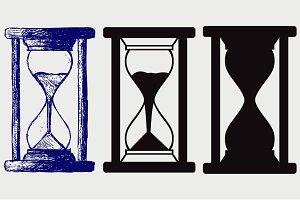 Hourglass SVG