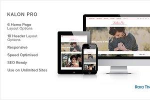 Kalon Pro: Feminine WordPress Theme