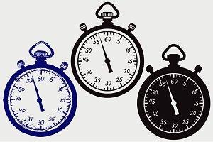 Stopwatch SVG