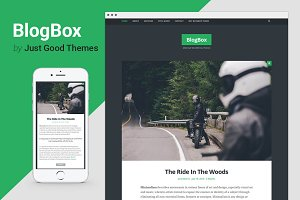 BlogBox - Minimal WordPress Theme