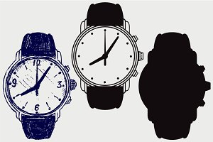 Wristwatch SVG