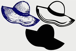 Women's Hat SVG