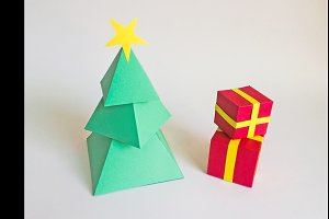 DIY Christmas Tree - 3d papercraft