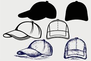 Baseball Cap SVG