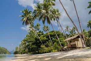 Tropical island landscape, El, Nido, Palawan, Philippines, Southeast Asia