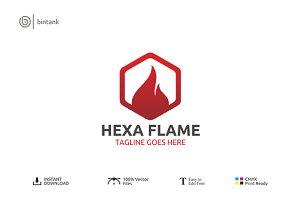 Hexa Flame Logo