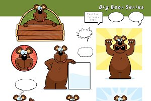 Cartoon Bear Series