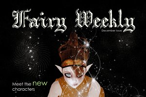 Fairy Weekly Magazine Cover