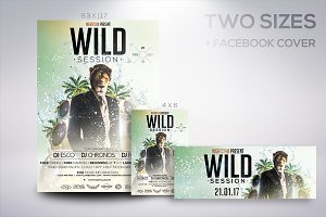 Wild Session Flyer
