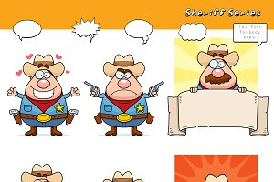 Cartoon Sheriff Series