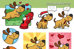 Cartoon Little Dog Series