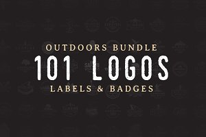 101 Outdoor Logos Bundle