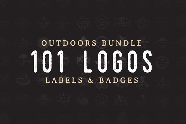 101 Outdoor Logos Bundle