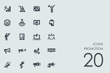 Promotion icons