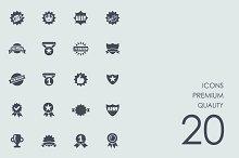 Premium quality icons