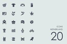 Netherland icons