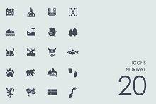 Norway icons