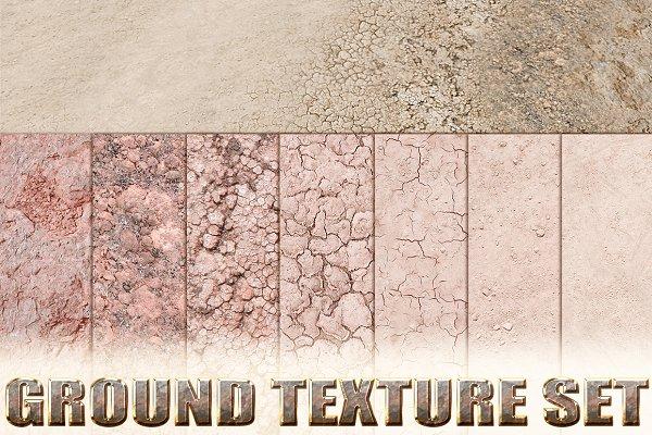 3D Organic: Beatheart Creative Studio - Ground Texture Set