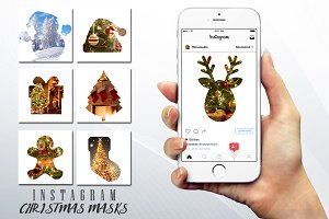 Christmas Instagram Photo Masks