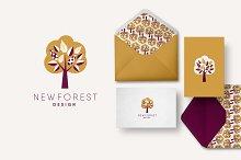 Tree Template Logo