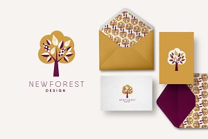 Tree Template Logo