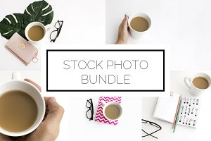 Coffee Photo Bundle (10 Images)