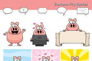 Cartoon Pig Series