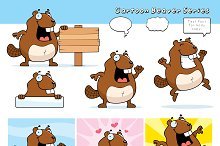 Cartoon Beaver Series
