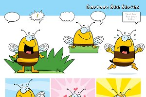 Cartoon Bee Series