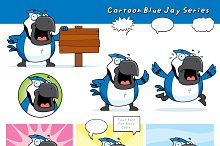 Cartoon Blue Jay Series