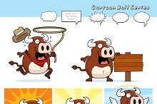 Cartoon Bull Series