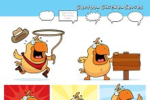 Cartoon Chicken Series