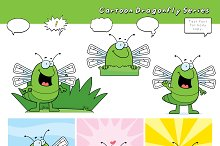 Cartoon Dragonfly Series