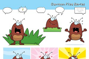 Cartoon Flea Series