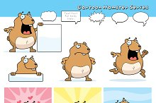Cartoon Hamster Series